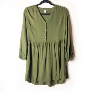 Old Navy Olive Green Tunic